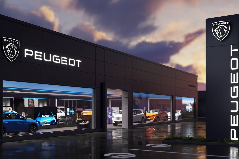 Peugeot nieuw logo