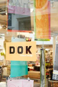 Etalage van DOK