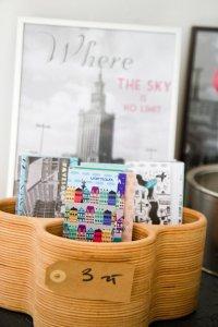 Fotokader en postkaartjes van Warschau in Soho Store