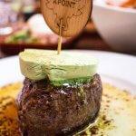 Steak met kruidenboter in De Bonte Os in Kampen