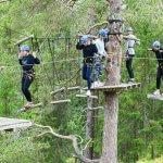 Noorwegen touwenparcours. Op en top avontuur.