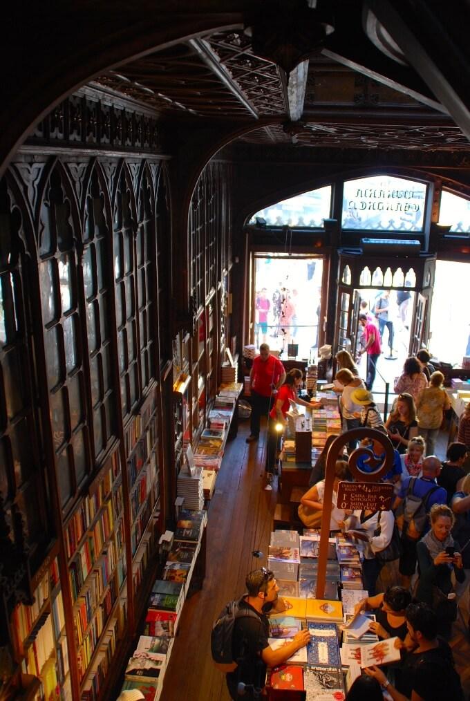 Lello bookshop in Porto