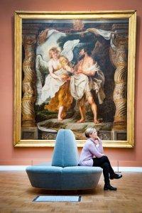 De Rubenszaal in Musée des Beaux-Arts in Valenciennes