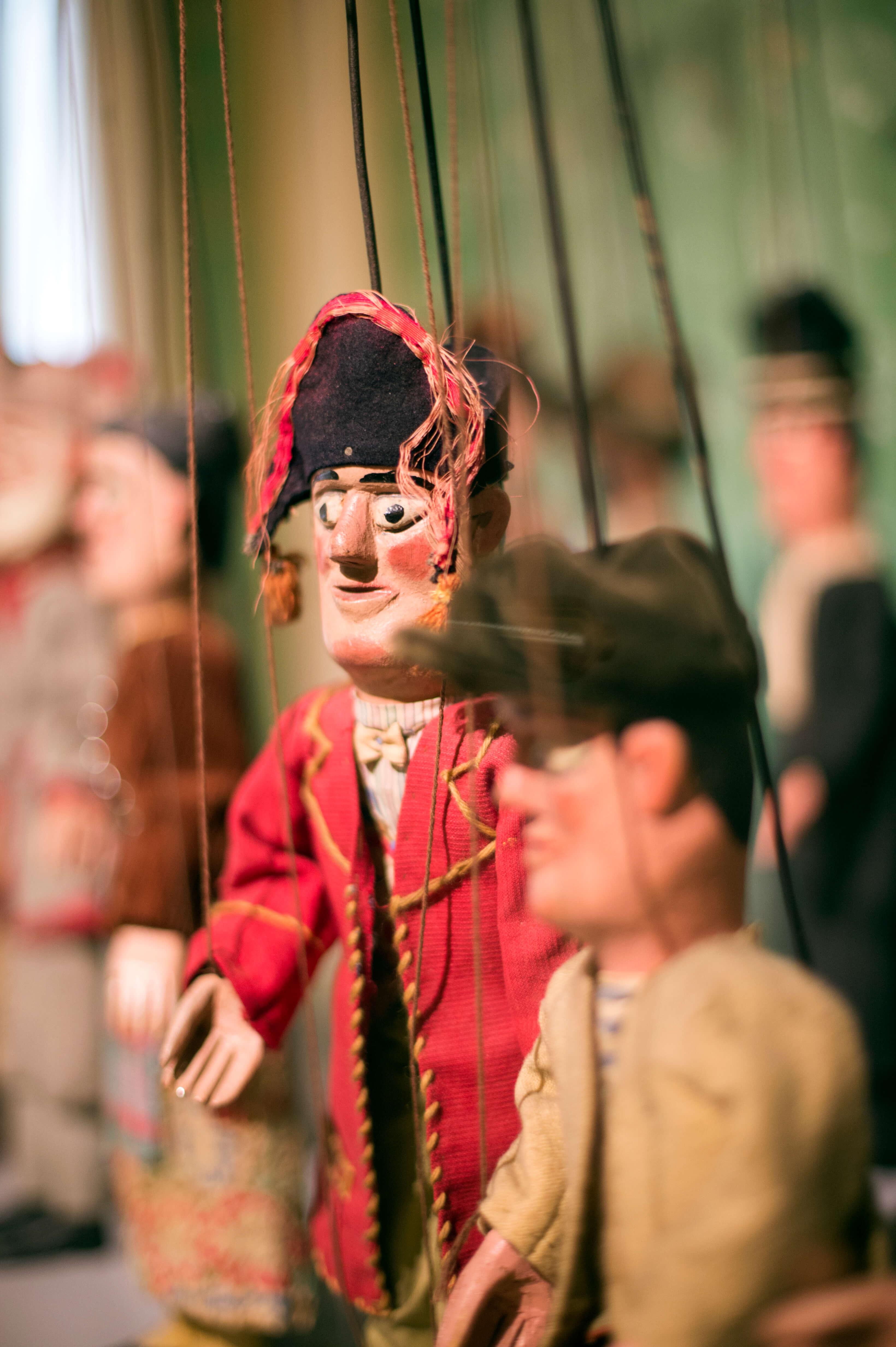 Maison de la Marionnette in Doornik