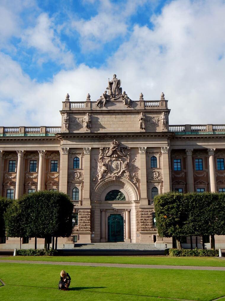 Gamla Stan Riksdagshuset