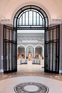 Hal van het Musée des Beaux-Arts in Valenciennes