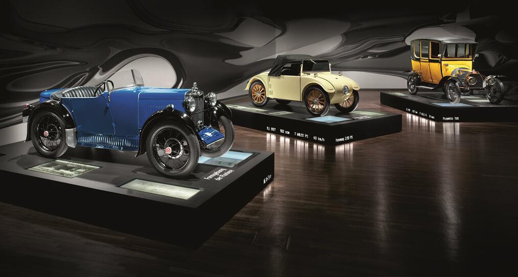 Autogeschiedenis in Zeithaus
