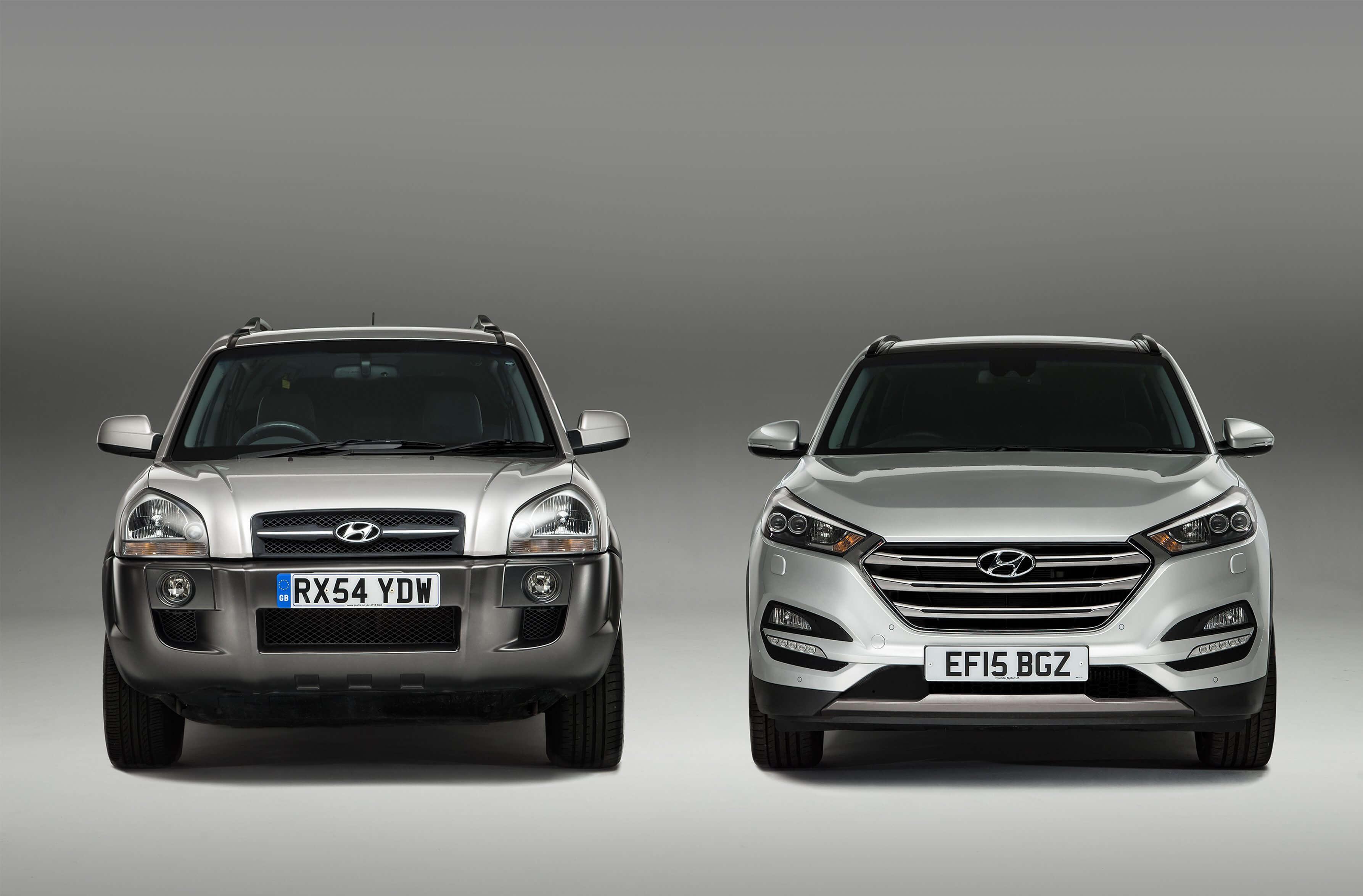 Succesvolle SUV's Hyundai