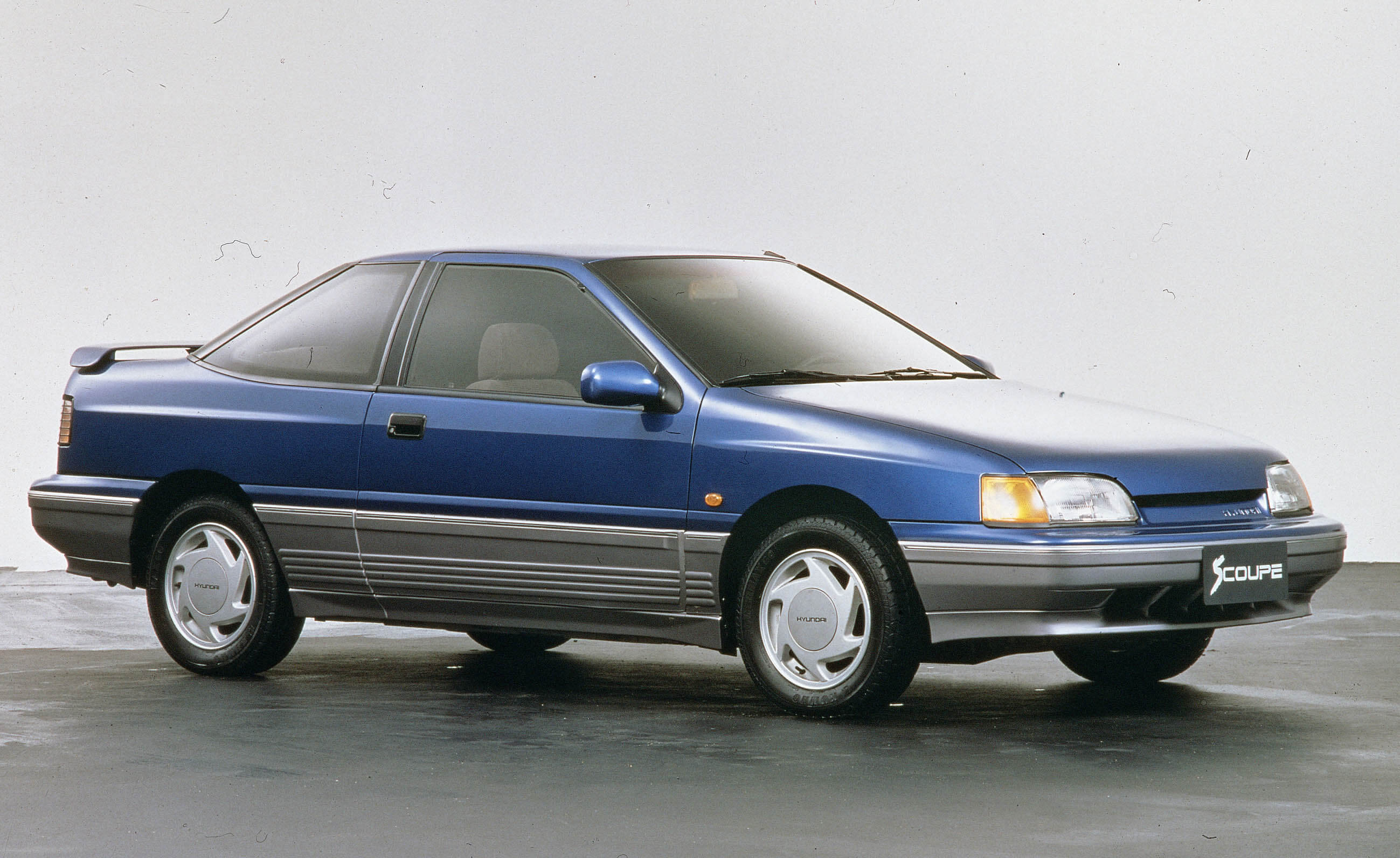 Eerste coupé Hyundai