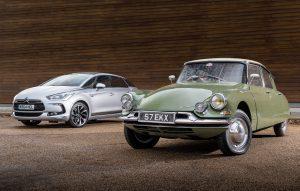 Citroën DS oud en nieuw