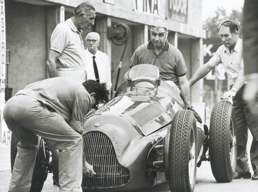 Alfa Romeo Geschiedenis Fangio