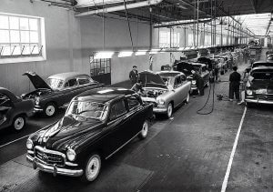 Seat 1400 fabriek