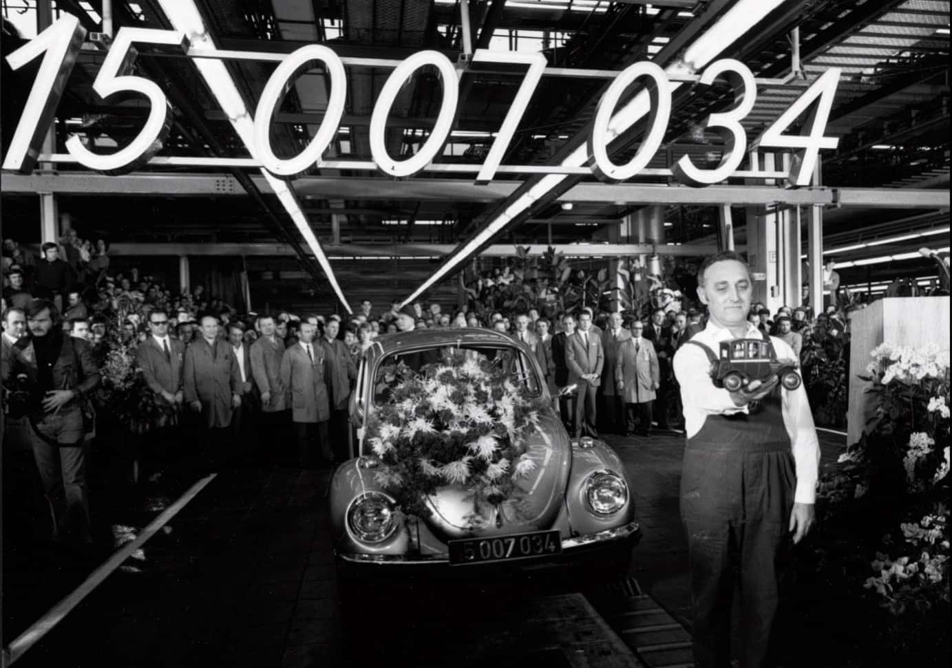 Volkswagen Kever productie