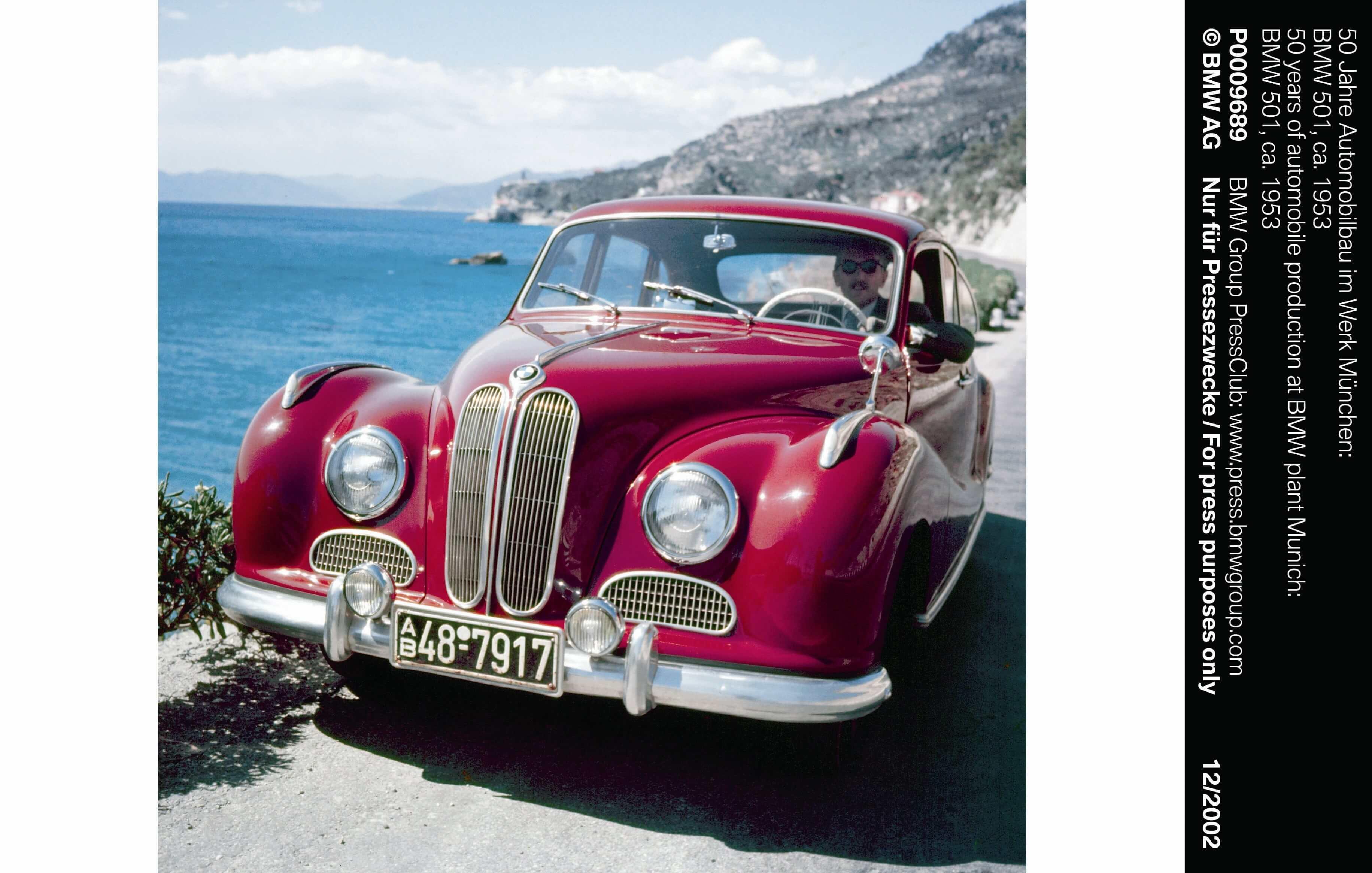 BMW Geschiedenis 501