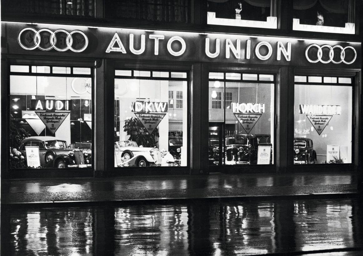 Audi Geschiedenis Ringen