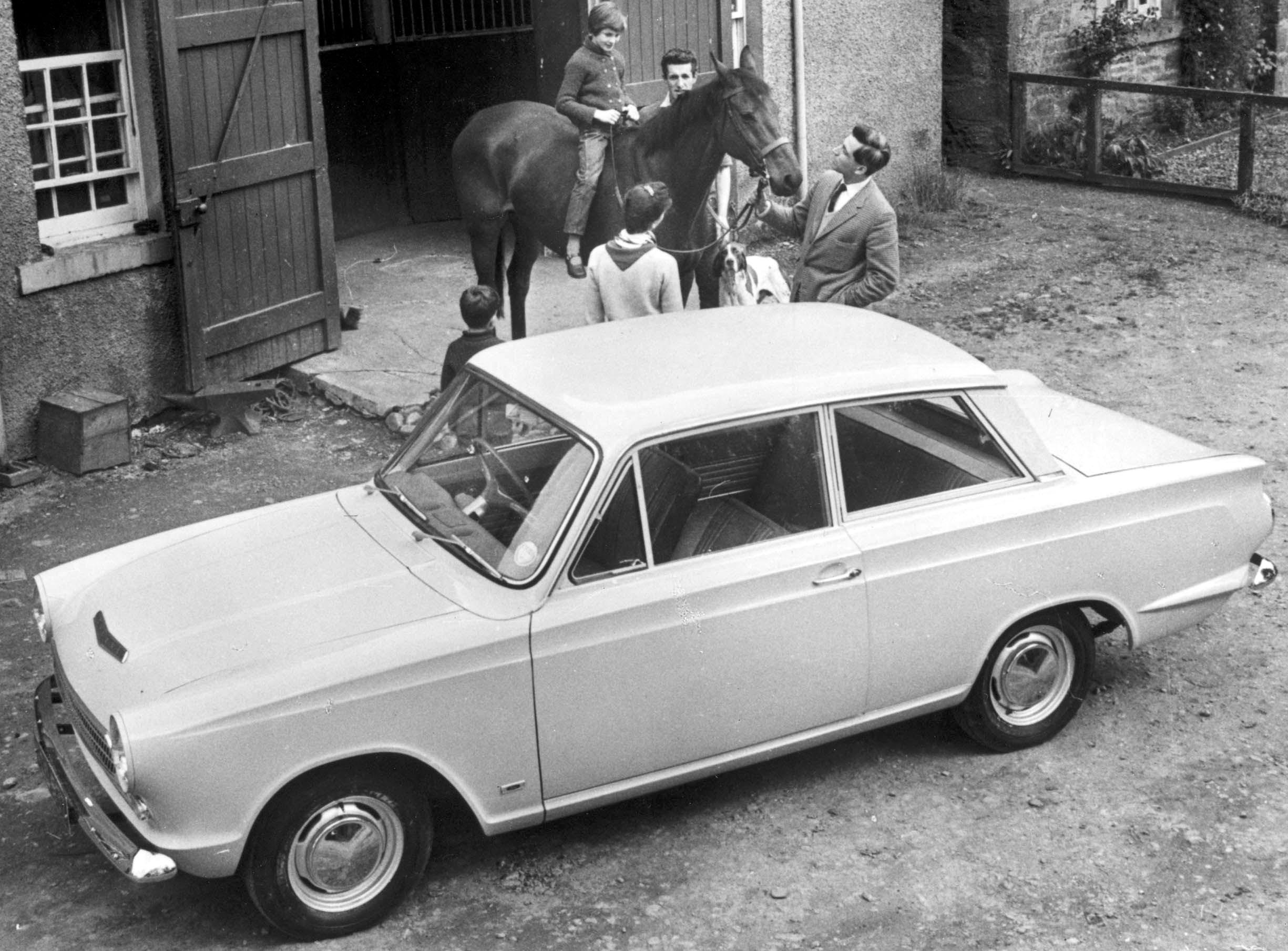 Ford Geschiedenis Cortina