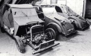 Citroën 2CV 3 prototype WOII