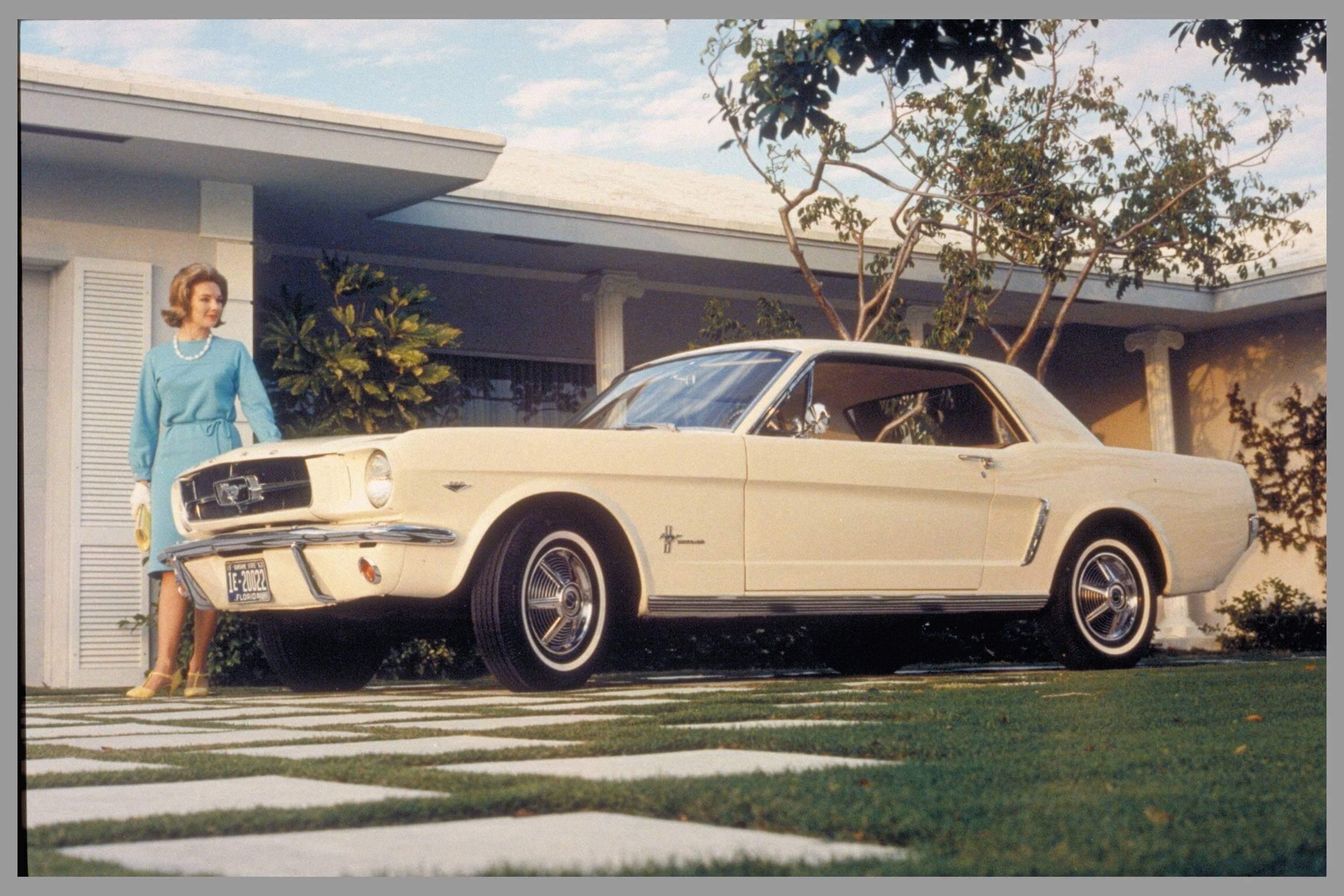 Ford Geschiedenis Mustang