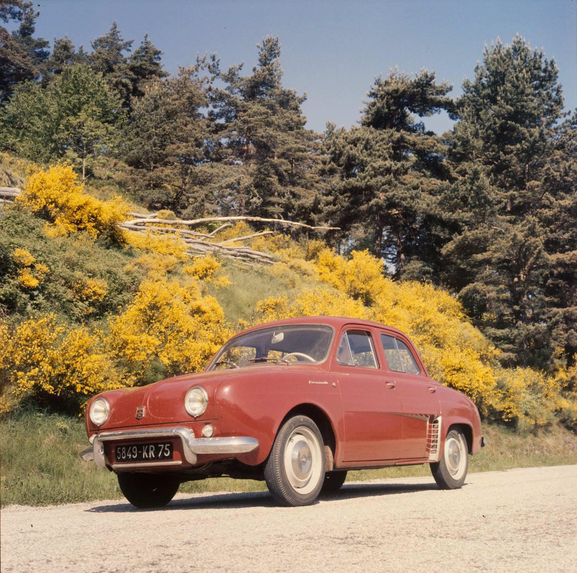 Renault Geschiedenis Dauphine