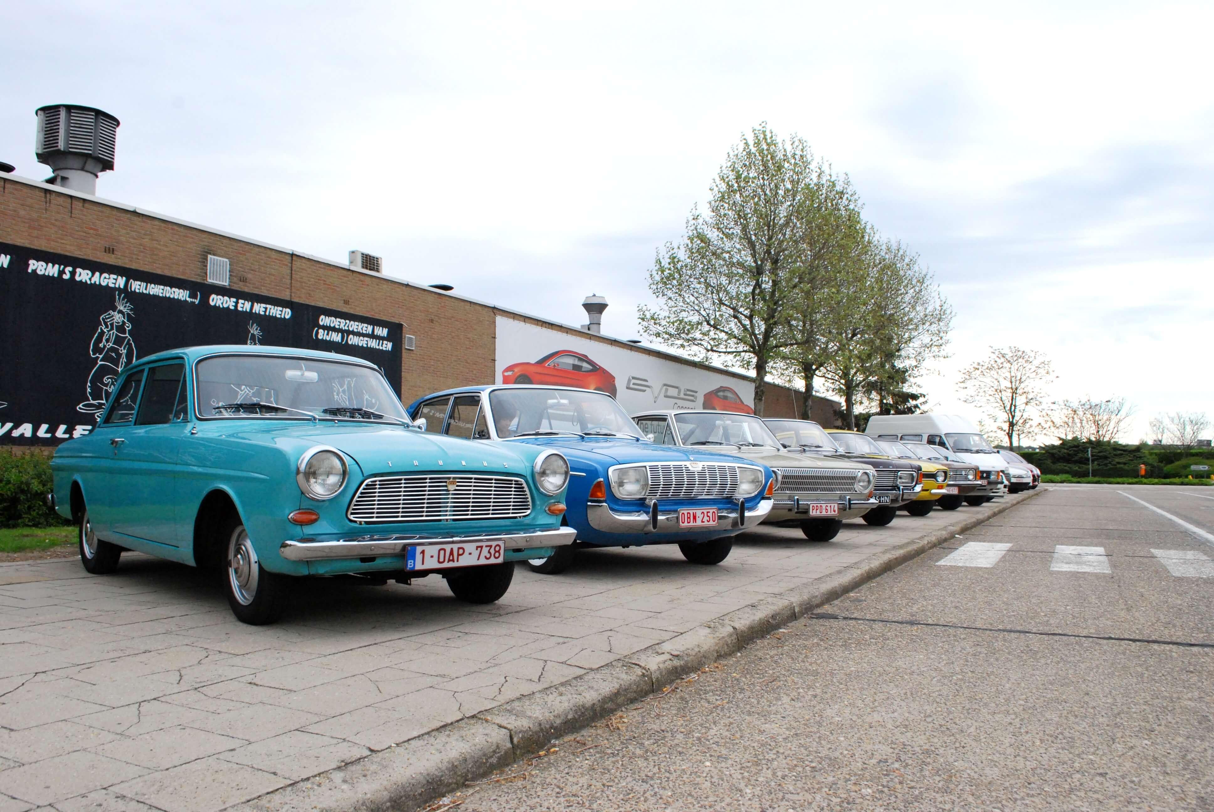 Ford Geschiedenis Taunus