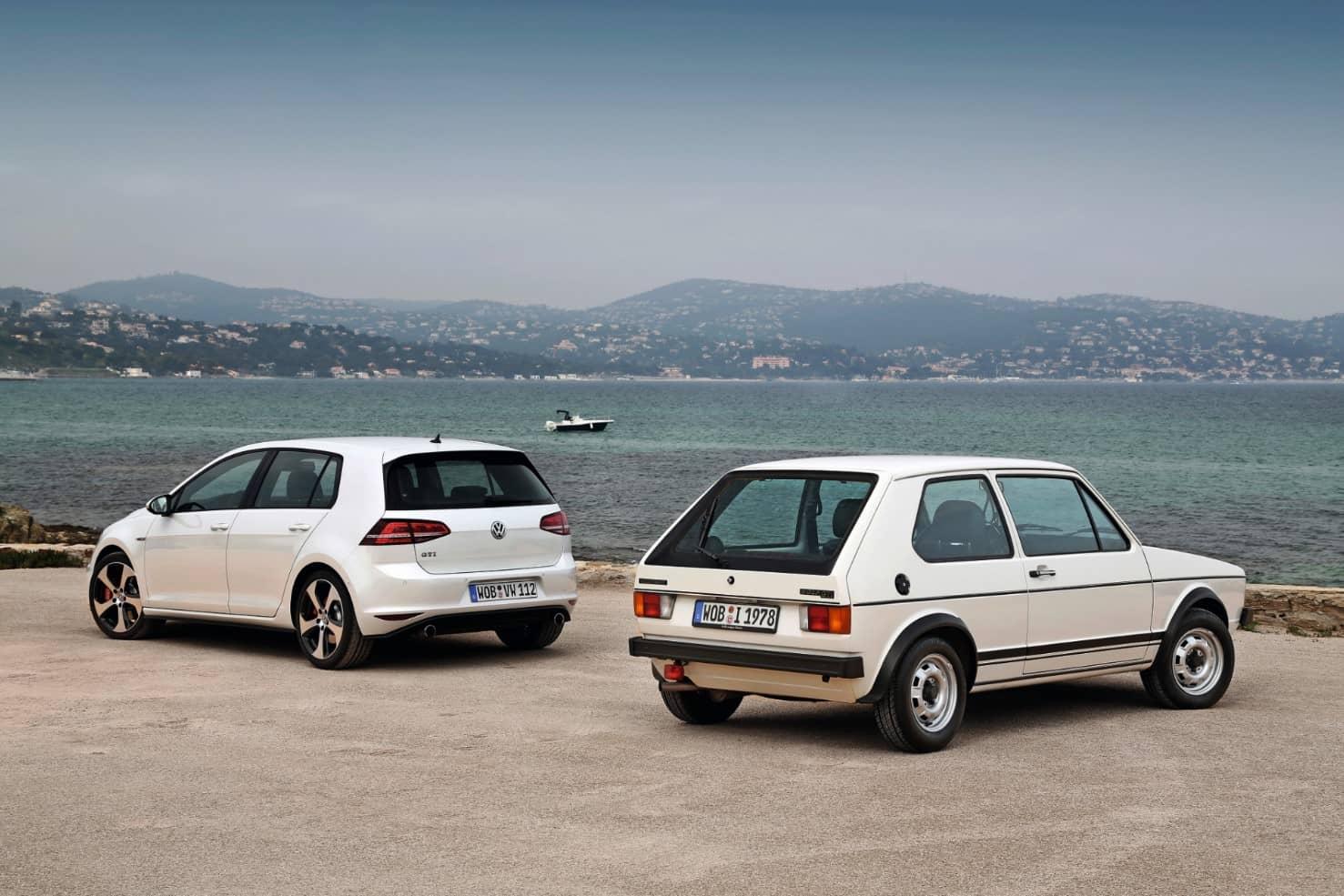 Volkswagen Golf oud en nieuw