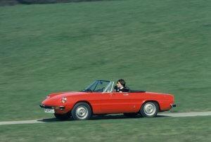 Alfa Romeo Geschiedenis Spider
