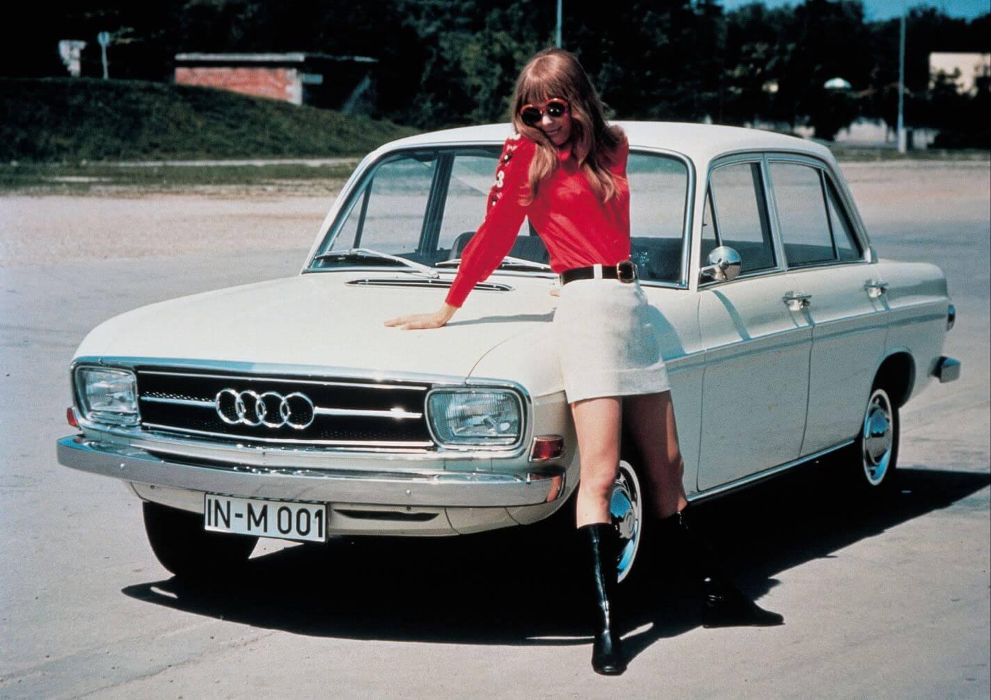 Audi Geschiedenis F102
