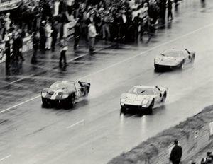 Ford Geschiedenis GT 40 Le Mans