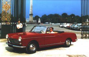 Peugeot Geschiedenis 404 cabrio