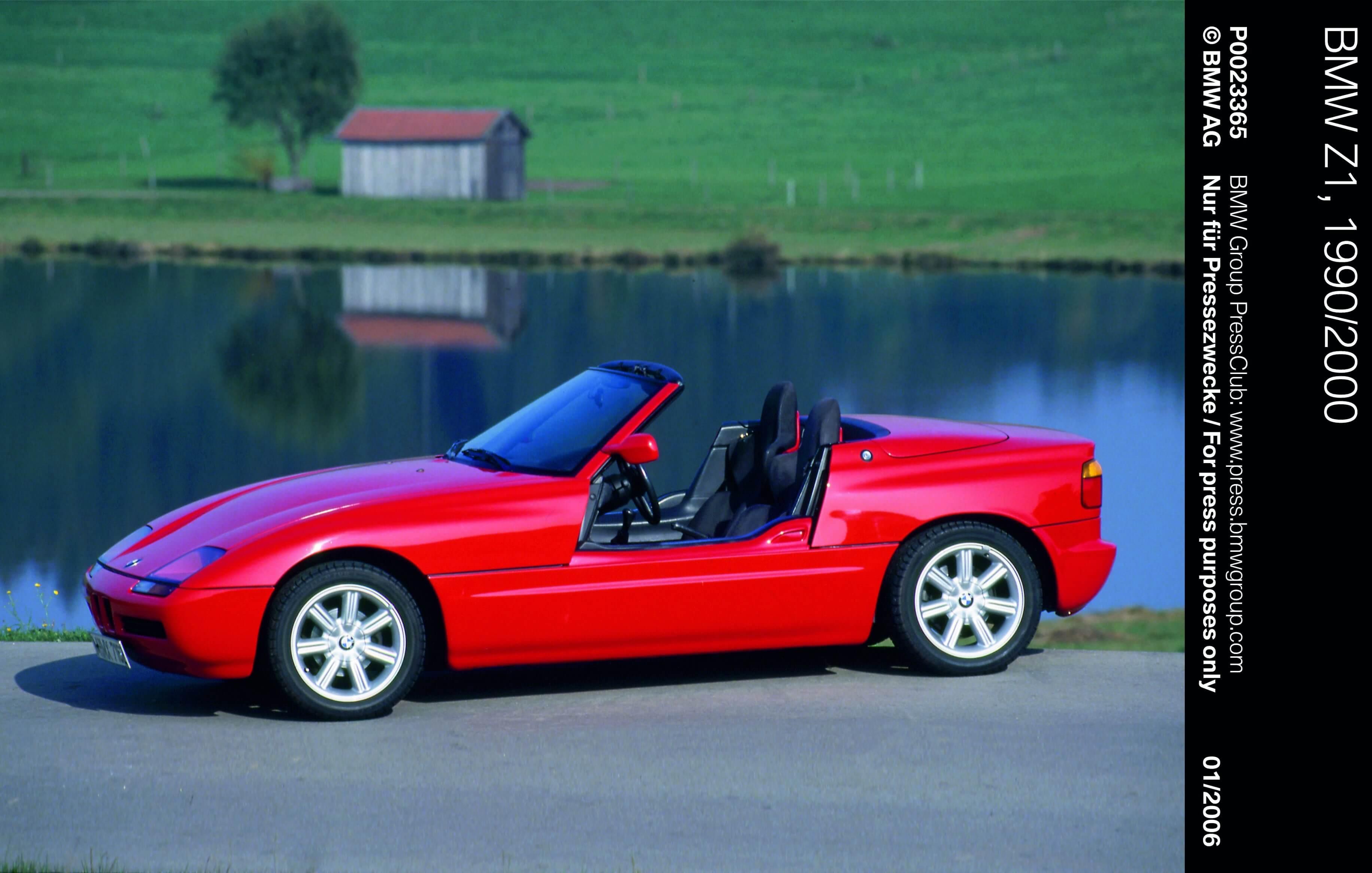 BMW Geschiedenis Z1
