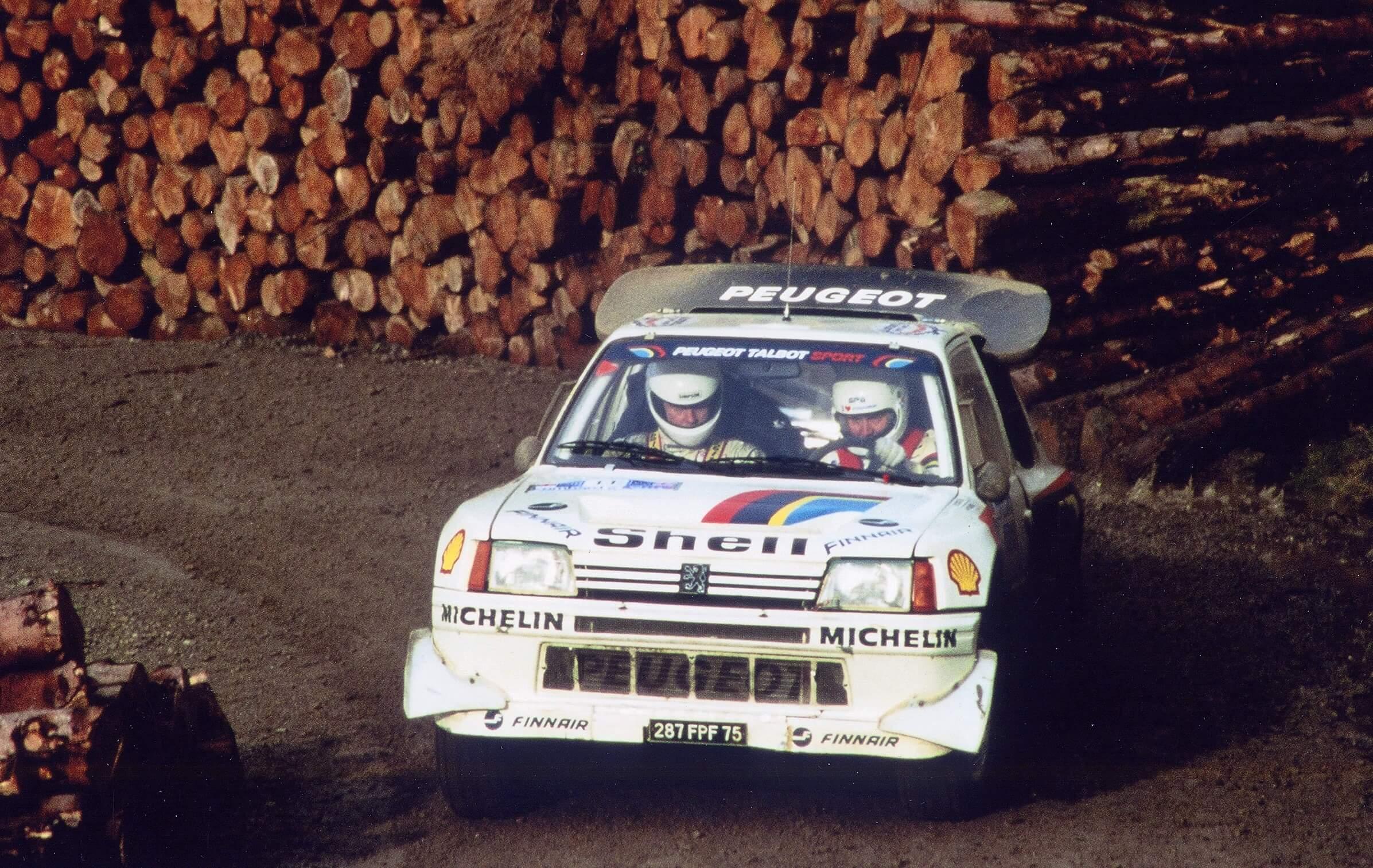 Peugeot Geschiedenis 205