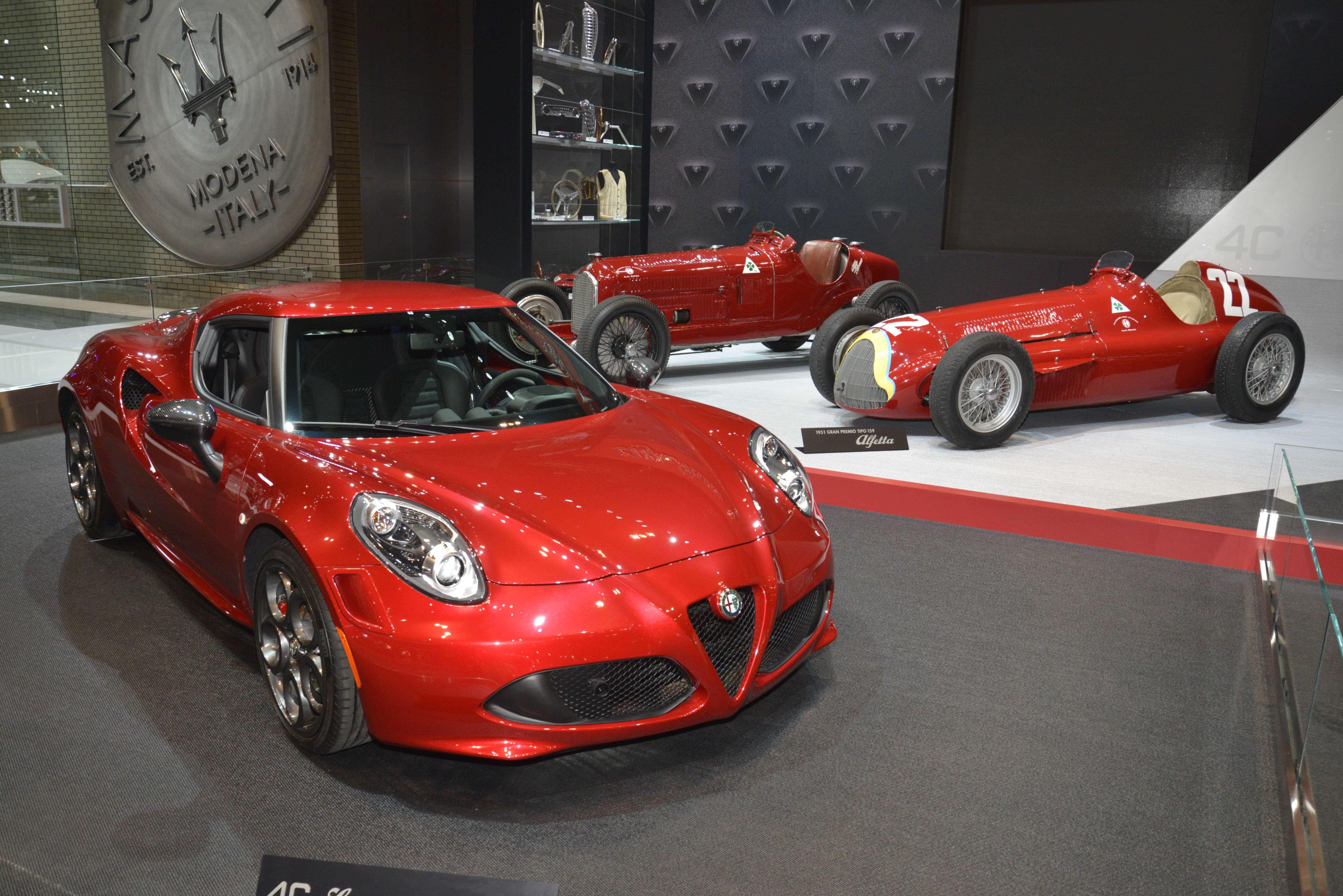 Alfa Romeo Geschiedenis 4C