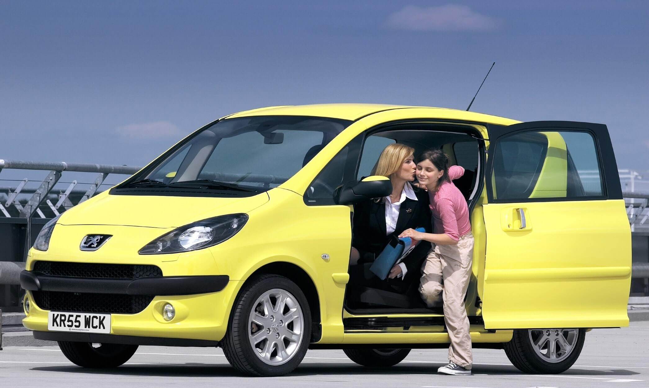 Peugeot Geschiedenis 1007