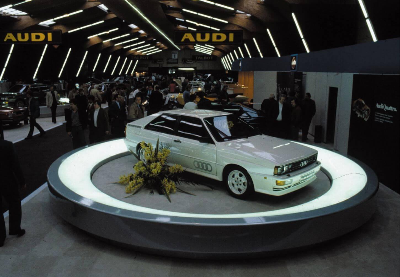 Audi Geschiedenis Quattro