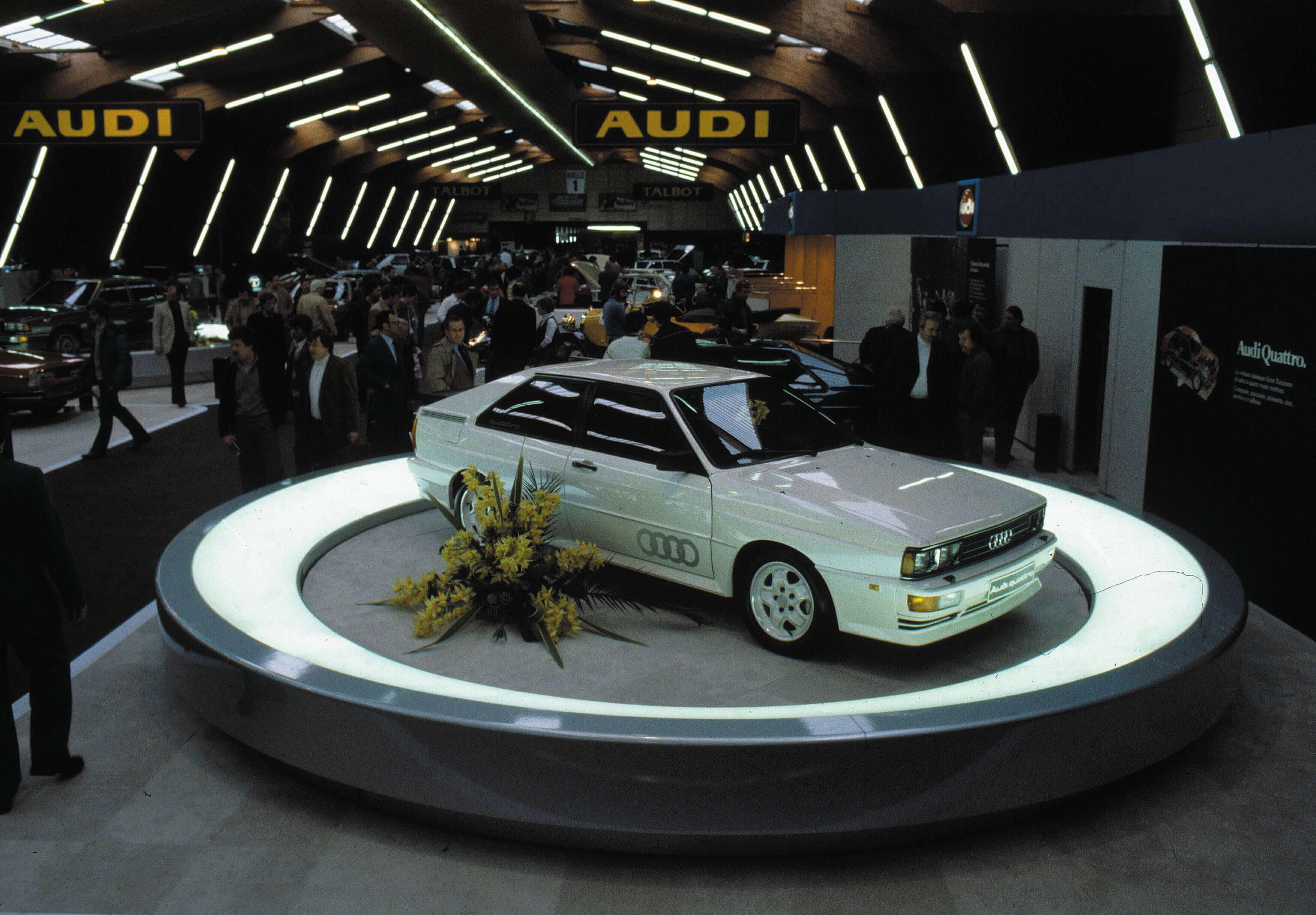 Nieuwe Audi Quattro