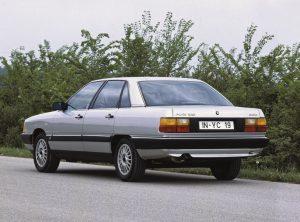 Audi Geschiedenis 100