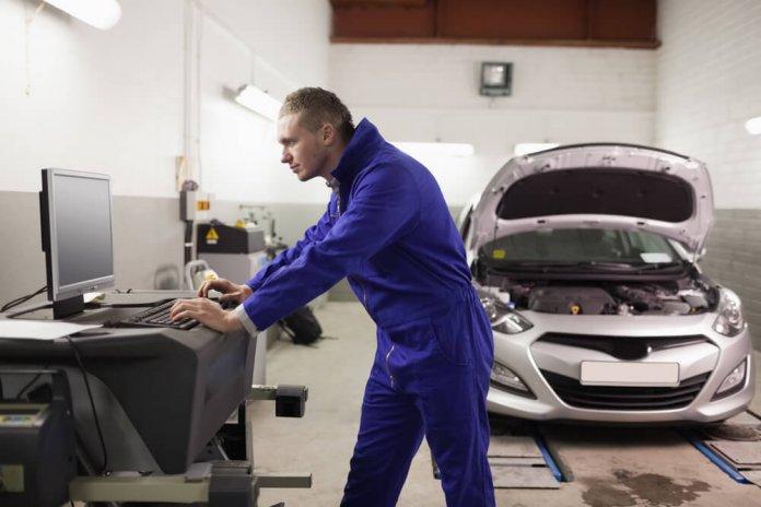 Onderhoud garage autosector