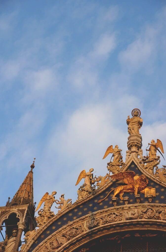 Venetië San Marco plein basiliek
