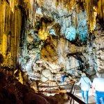Grot met stalagtieten in Andalusië
