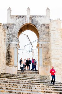 Pastora arch, poort in Moorse stijl in Medina Sidonia
