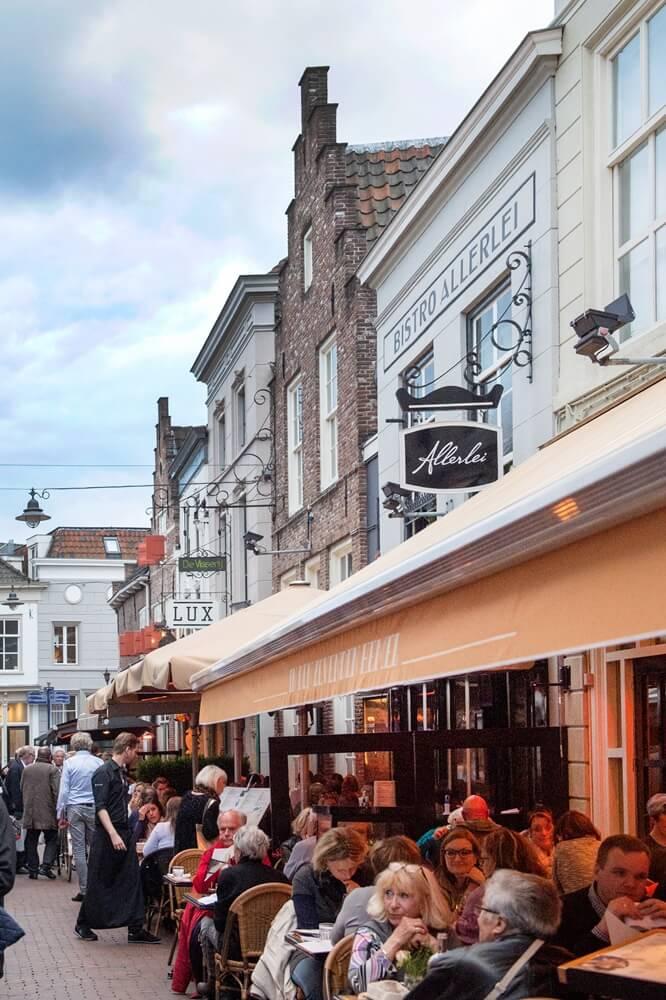 Terrasjes in Den Bosch