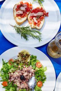 Borden Kroatisch eten
