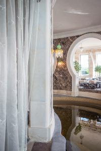 Binnenplek in Moorse stijl