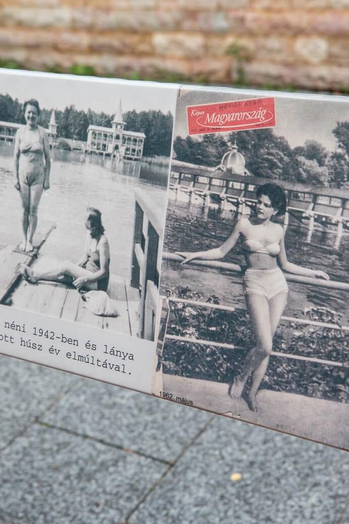 Zwart-witfoto's van vrouwen in bikini