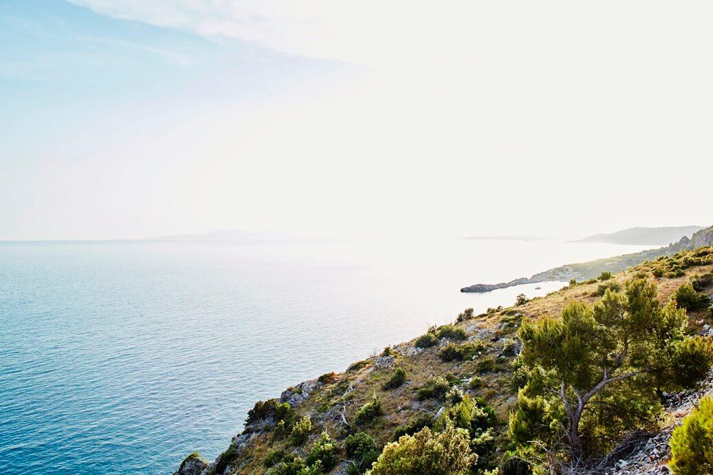Uitzicht op kade van Split, Kroatië