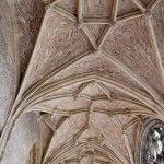 Plafond van de abdij van Middelburg