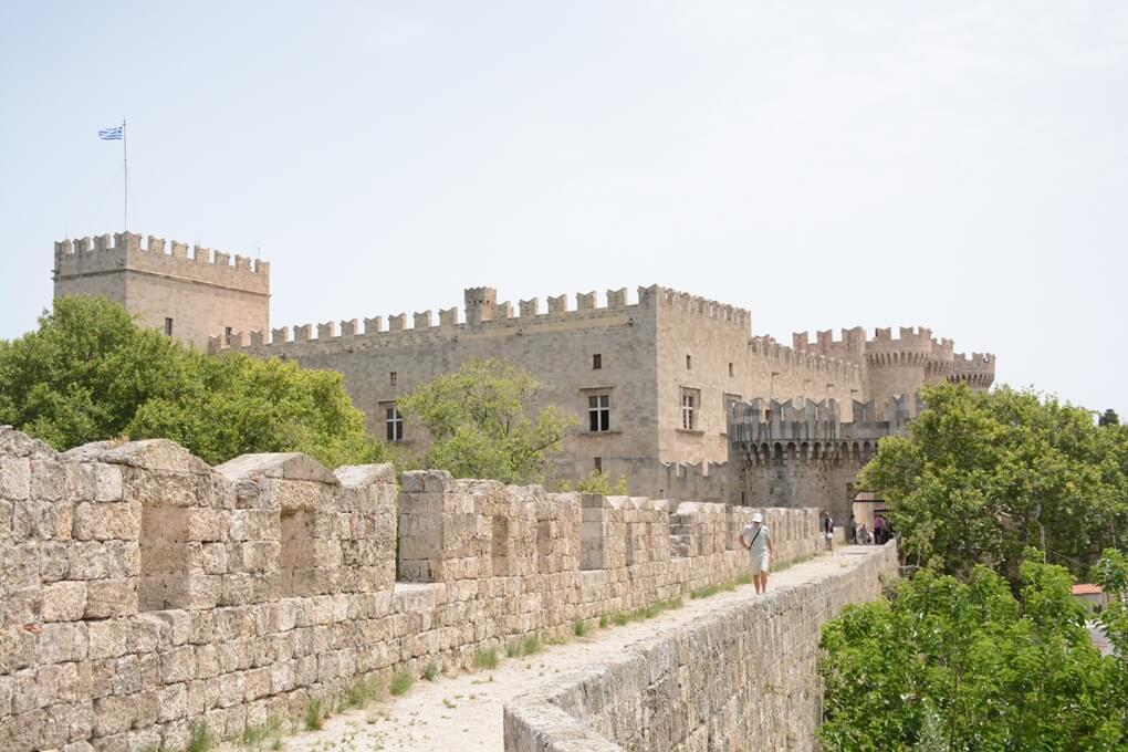 Stadswallen van Rhodos