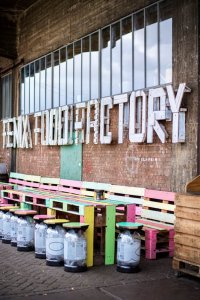 Gevel van Fenix Food Factory in Rotterdam