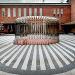 Binnenplaats van museum Boijmans Van Beuningen