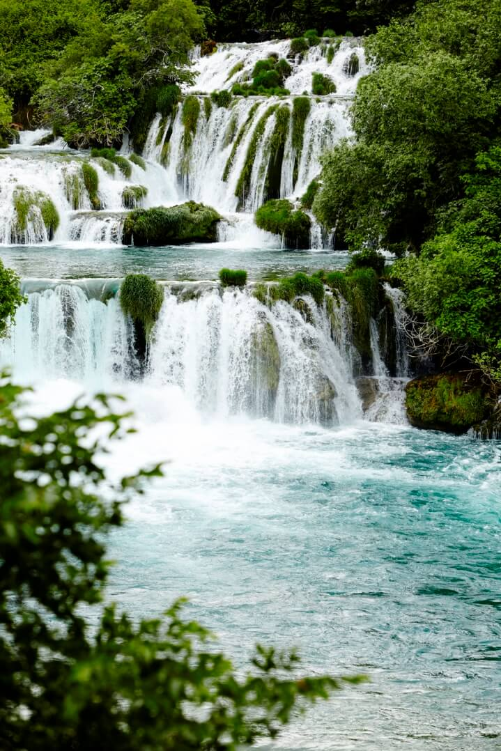 Skradinski Buk watervallen in Krka national park
